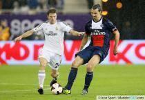 Zlatan Ibrahimovic / Asier Illarramendi - 02.01.2014 - Paris Saint Germain / Real Madrid - match amical - Doha
