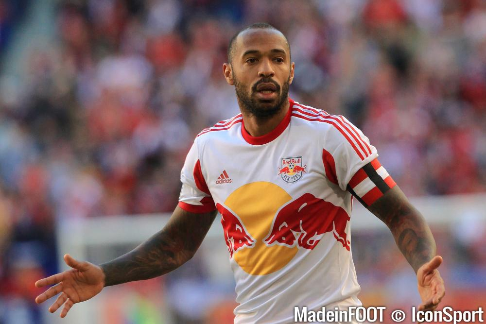 Thierry Henry ne portera plus le maillot des New York Red Bulls
