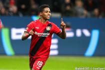 Wendell during the Bundesliga match between Bayer Leverkusen and Mainz on 28th January 2018