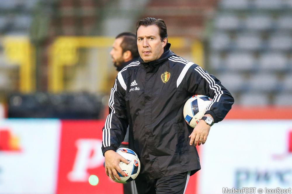 Wilmots est le sélectionneur de la Belgique depuis 2012