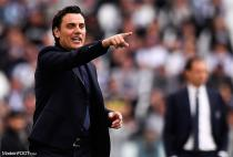 Vincenzo Montella during the Serie A match at Allianz Stadium, Turin. Picture date: 20th April 2019.