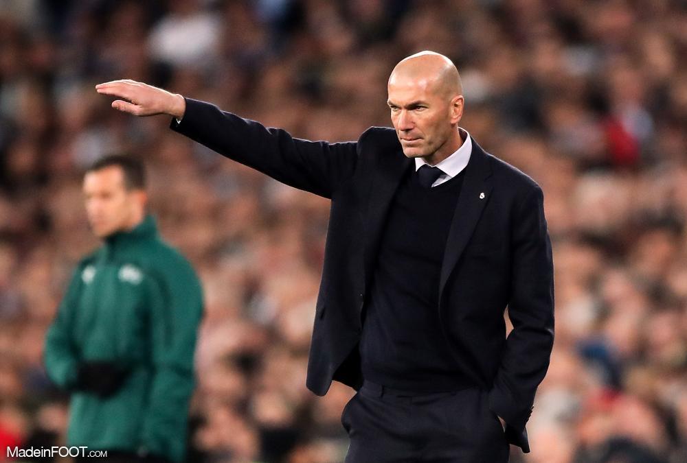Zinédine Zidane a souhaité un joyeux anniversaire aux Girondins