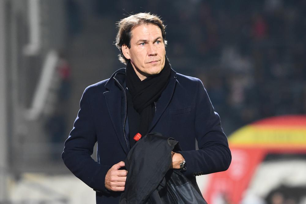 Rudi Garcia fait le point après le point du nul ramené par l'OL de Bordeaux.