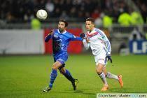 Fahid BEN KHALFALLAH / Mehdi ZEFFANE - 05.02.2014 - Lyon / Troyes - 1/2Finale Coupe de la Ligue