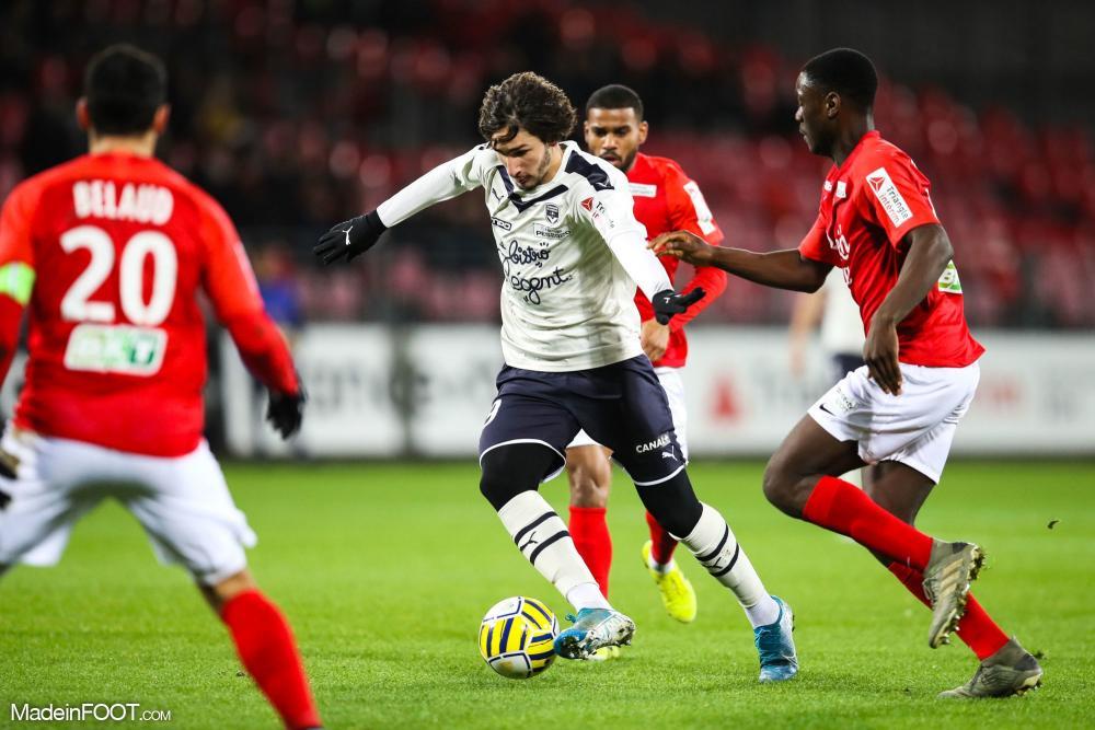 Les Girondins de Bordeaux se sont inclinés face au Stade Brestois 29 (2-0), ce mercredi soir en Coupe de la Ligue.