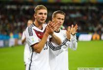 Christoph KRAMER / Erik DURM - 30.06.2014 - Allemagne / Algerie - 1/8Finale - Coupe du Monde 2014 -Porto Alegre-