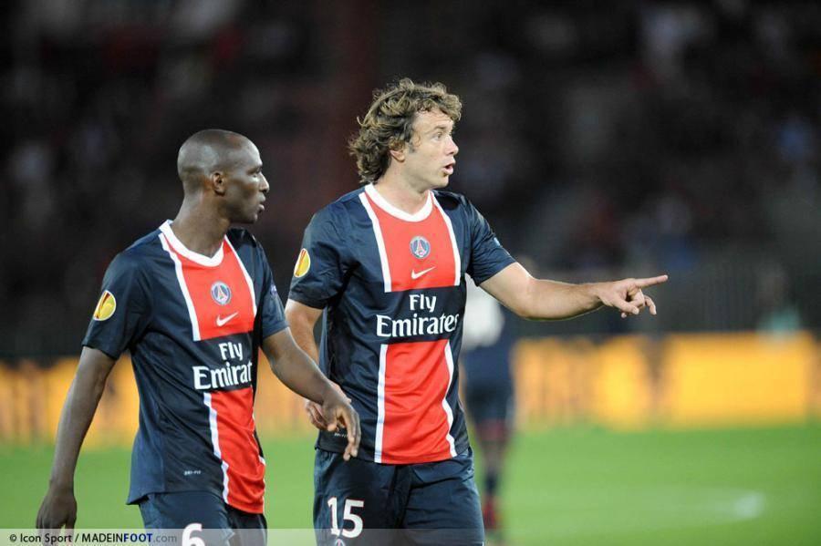 Lugano ne voulait pas quitter le Paris Saint-Germain