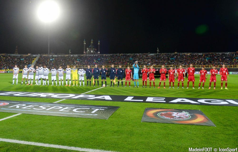 L'album photo de la rencontre entre le Rubin Kazan et les Girondins de Bordeaux.