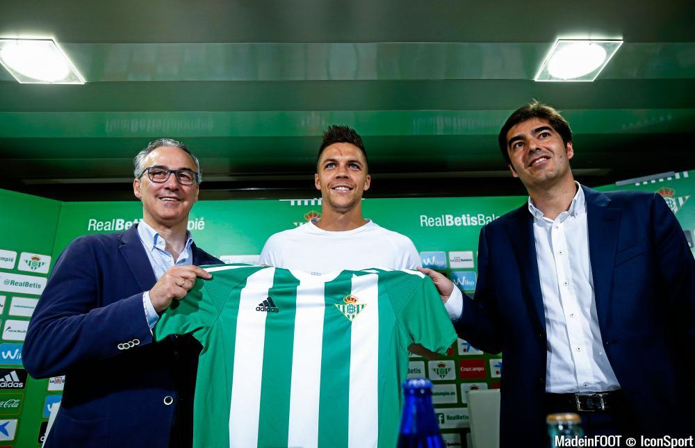 Jonas Martin a signé au Bétis l'été dernier pour 2,5 millions d'euros.