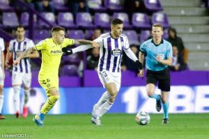 Hatem Ben Arfa n'a disputé que cinq matches avec Valladolid la saison passée.