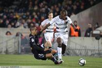 WENDEL / Rod FANNI  - 12.12.2010 Ð Bordeaux / Rennes - 17 eme journee de Ligue 1 - Bordeaux  Ð