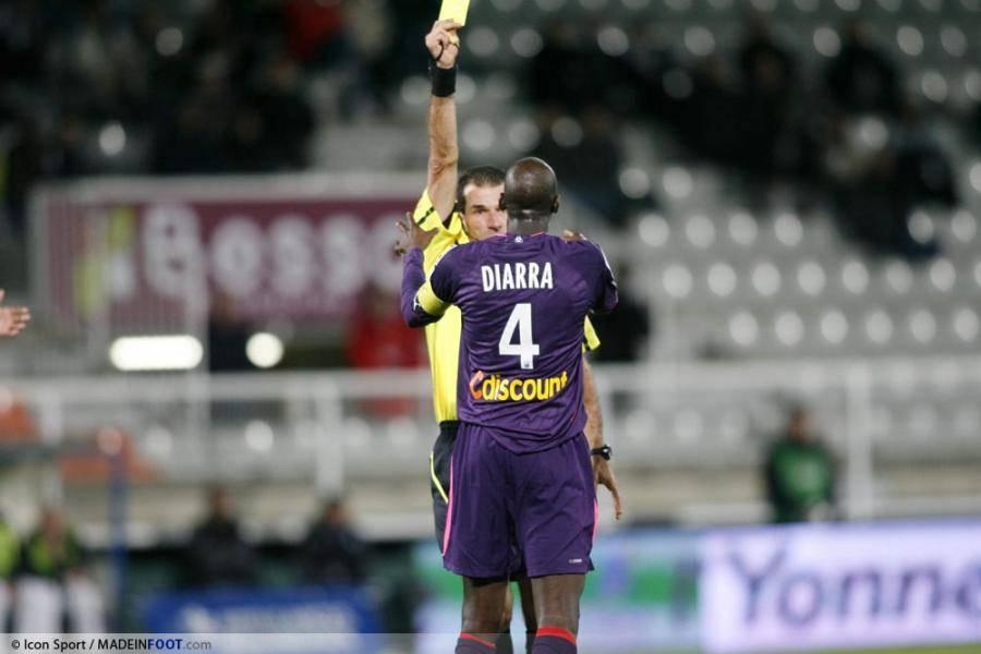 A. Diarra suspendu 6 matchs