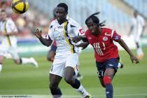 Boukary DRAME  / GERVINHO - 18.05.2011 - Lille / Sochaux - Math en retard de la 36eme journee de Ligue 1