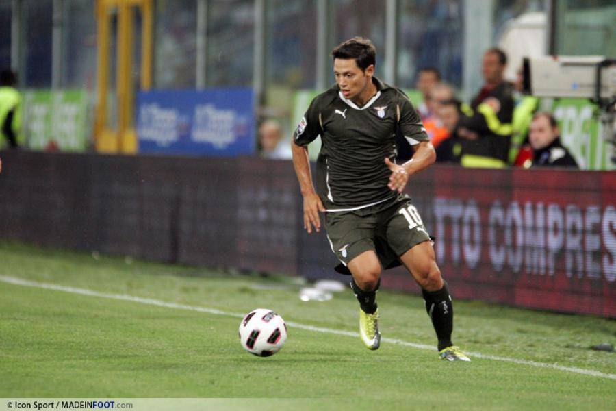 Zarate sous le maillot de la Lazio