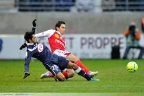 Benoit TREMOULINAS / Diego RODRIGUES - 09.12.2012 - Reims / Bordeaux - 16 eme journee de Ligue 1