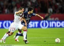 Florian MARANGE / Javier PASTORE  - 26.08.2012 - PSG / Bordeaux - 3eme journee de Ligue 1