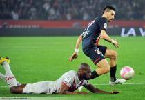 Javier PASTORE / Michael CIANI - 25.03.2012 - Paris Saint Germain / Bordeaux - 29e journee Ligue 1