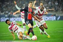 Mathieu BODMER / Benoit TREMOULINAS / Michael CIANI - 25.03.2012 - Paris Saint Germain / Bordeaux - 29e journee Ligue 1