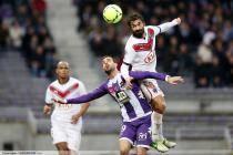 Fahid Ben Khalfallah / Eden Ben Basat  - 17.03.2013 - Toulouse / Bordeaux - 29eme journee de Ligue 1 -