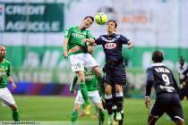 Francois CLERC / Ludovic OBRANIAK - 03.05.2013 - Saint Etienne / Bordeaux - 35e journee Ligue 2
