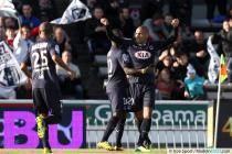 joie de Jussie  - 15.12.2013 - Bordeaux  / Valenciennes - 18eme journee de Ligue 1