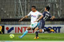 Jordan AYEW / Benoit TREMOULINAS - 05.04.2013 - Marseille / Bordeaux - 31e journee Ligue 1
