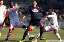 Jussie / Benjamin Angoua / Eloge Enza Yamissi  - 15.12.2013 - Bordeaux  / Valenciennes - 18eme journee de Ligue 1