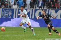 Mario LEMINA / Ludovic OBRANIAK - 22.12.2013 - Marseille / Bordeaux-  19eme journee de Ligue 1 -