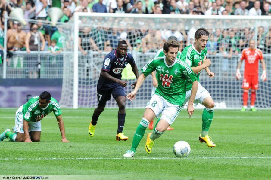 Les Verts ont renoué avec la victoire contre les Girondins de Bordeaux