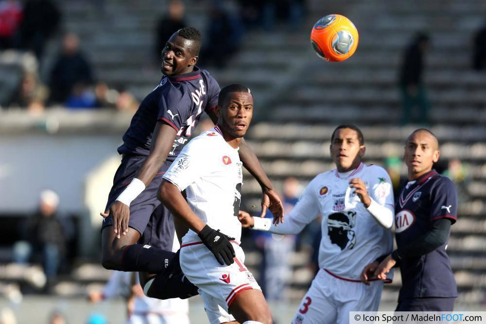 Les Girondins de Bordeaux ont pris le meilleur sur l'AC Ajaccio