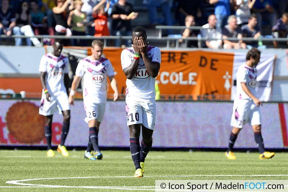 Les Girondins de Bordeaux ont concédé la défaite contre le FC Sochaux
