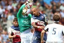 Alphonse Areola / Julien Faubert - 31.08.2014 - Bordeaux / Bastia - 4eme journee de Ligue 1