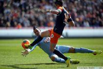 but refuse Remy CABELLA / OLIMPA   - 16.03.2014 - Montpellier / Bordeaux - 29eme journee de Ligue 1
