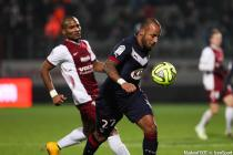 Florent MALOUDA / Julien FAUBERT - 03.12.2014 - Metz / Bordeaux - 16eme journee de Ligue 1