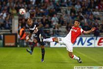 Julien Faubert / Jeremy Toulalan - 17.08.2014 - Bordeaux / Monaco - 2eme journee de Ligue 1 -