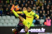 Koffi DJIDJI / Ferreira Vieira JUSSIE - 29.03.2014 - Nantes / Bordeaux - 31eme journee de Ligue 1 -