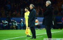 Laurent BLANC / Francis GILLOT - 31.01.2014 - Paris Saint Germain / Bordeaux - 23e journee Ligue 1