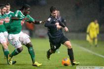 Lucas Orban / Moustapha Sall - 26.01.2014 - Bordeaux / Saint Etienne - 22eme journee de Ligue 1 -