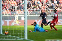 Magno NOVAES / Goal Julien FAUBERT / Benjamin ANGOUA - 04.05.2014 - Valenciennes / Bordeaux - 36eme journee de Ligue 1 -