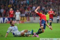 Marco LOPES / Florian MARANGE - 27.09.2014 - Lille / Bastia - 8eme journee de Ligue 1