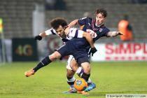 Martin Braithwaite / Ludovic Obraniak  - 11.01.2014 - Bordeaux / Toulouse - 20e journee Ligue 1