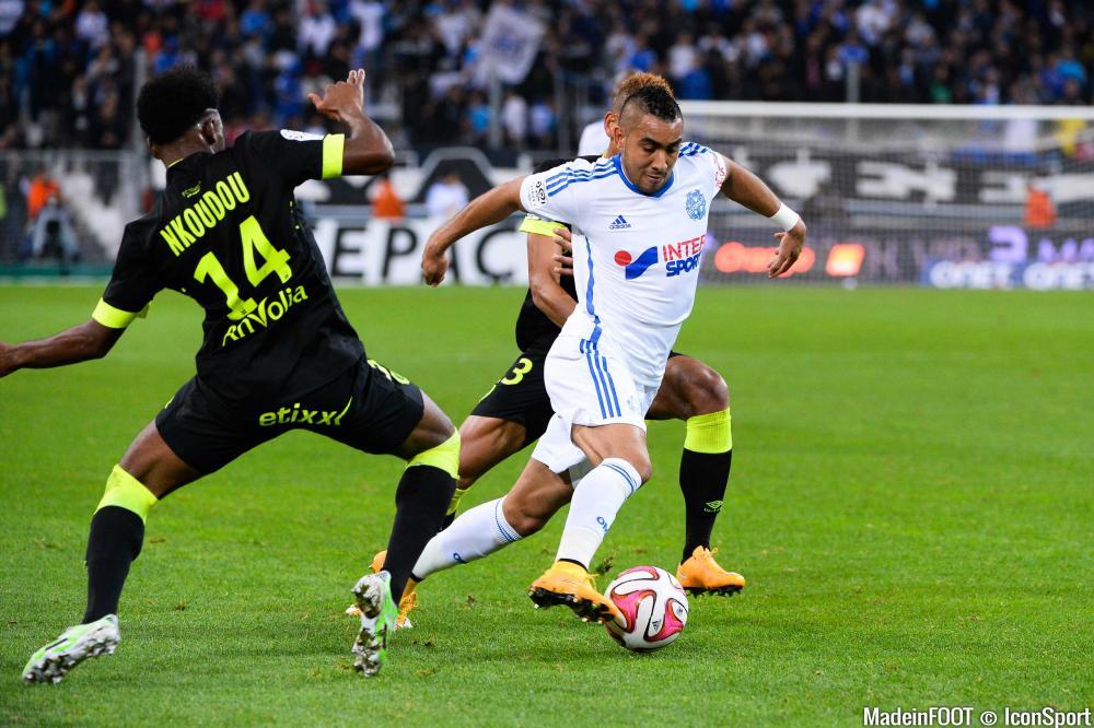 Payet est en tête du classement des meilleurs passeurs de Ligue 1