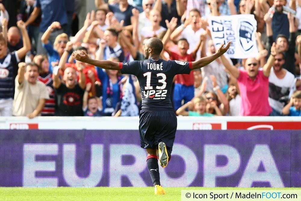 Touré est en fin de contrat en juin prochain mais devrait rempiler avec les Girondins de Bordeaux