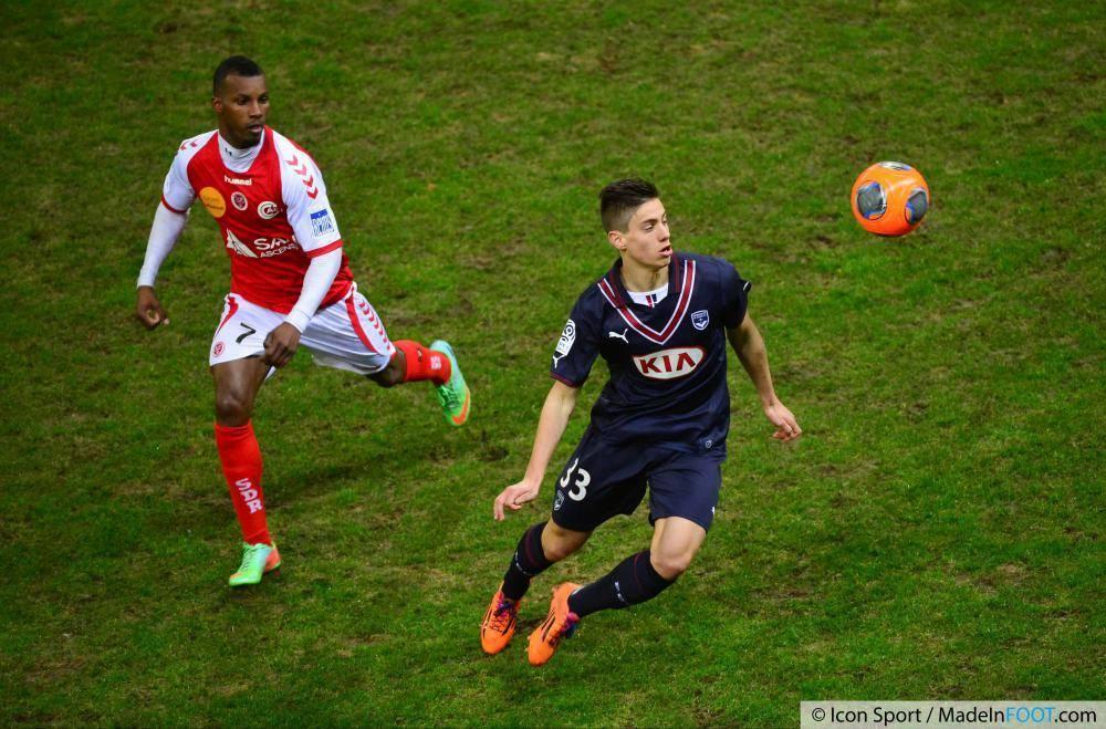 Pellenard a signé jusqu'en juin 2017 avec les Girondins de Bordeaux