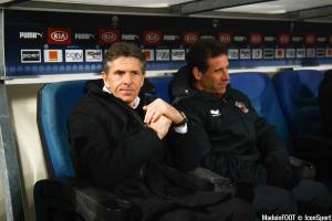 Claude Puel - 16.01.2015 - Bordeaux / Nice - 21e journee Ligue 1