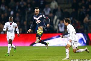 Diego Contento / Gregoire Puel - 16.01.2015 - Bordeaux / Nice - 21e journee Ligue 1