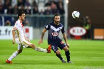 Bernardo Silva / Diego Contento - 08.11.2015 - Bordeaux / Monaco - 13eme journee de Ligue 1