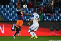 Bryan Dabo / Florian Marange - 24.10.2015 - Montpellier / Bastia - 11eme journee de Ligue 1