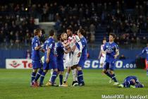 Florian MARANGE / Isaac Kiese THELIN  - 24.01.2015 - Bastia / Bordeaux  - 22eme journee de Ligue1