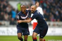 Joie Diego Rolan / Diego Contento - 15.03.2015 - Bordeaux / Paris Saint Germain - 29e journee Ligue 1